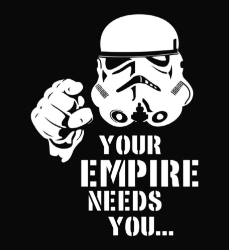 The Empire ran a coercive information operations campaign