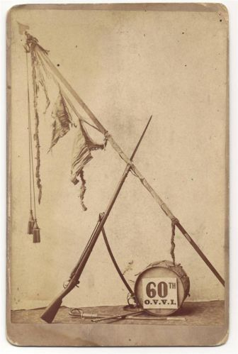 Colors of the reconstituted 60th Ohio in 1865