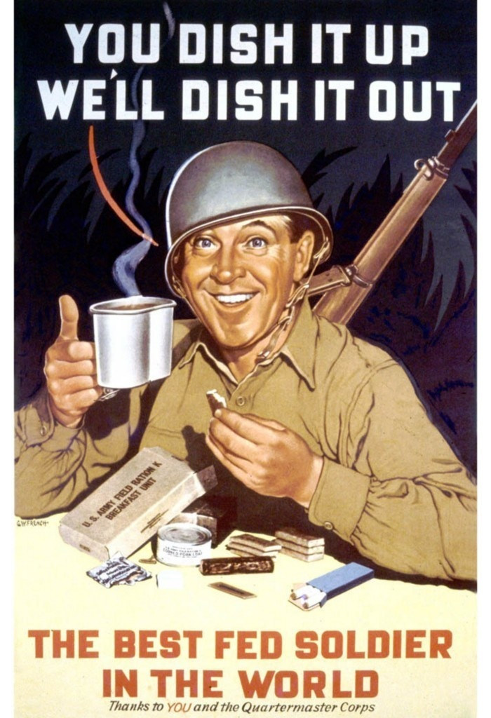 Propaganda always has a glimmer of truth: coffee being the truth, in this case.