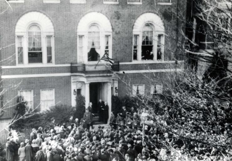 President Wilson declares November 11 to be Armistice Day, 1919
