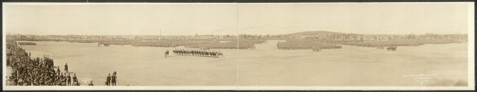 26th Division on Review, 1917