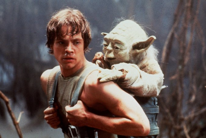 MARK HAMILL, LUKE SKYWALKER, YODA, STAR WARS
