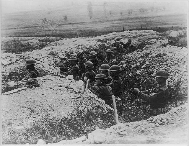 US troops in Verdun, 1918 (Library of Congress)