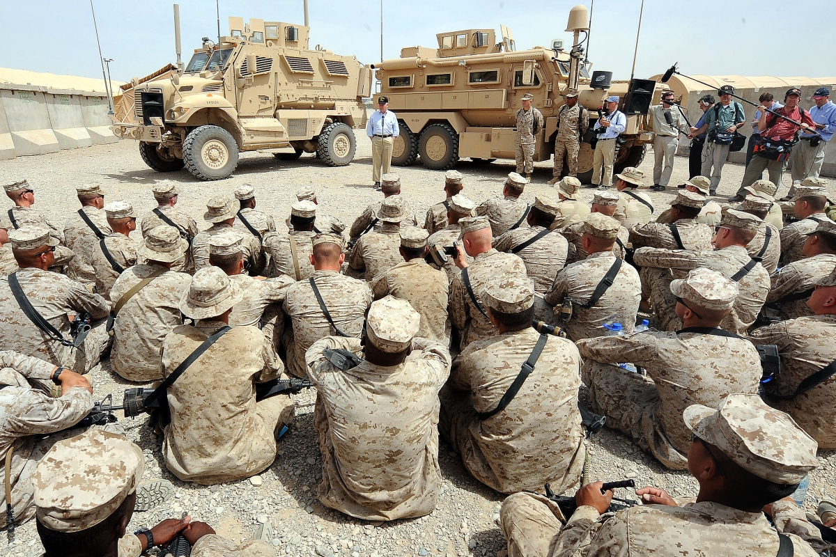 "How do I Talk to my ""Boots"" About Politics? Retaking the American Narrative in the Marine Corps"