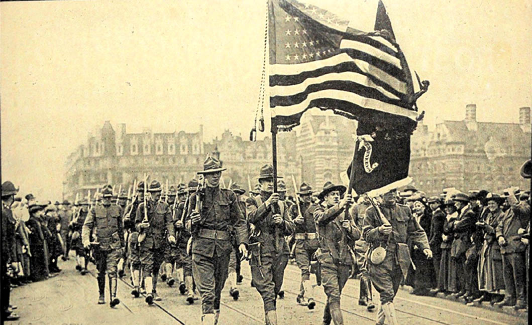 "Look! Here are the Americans!"" The U.S. in World War I and Popular Memory –  The Angry Staff Officer"