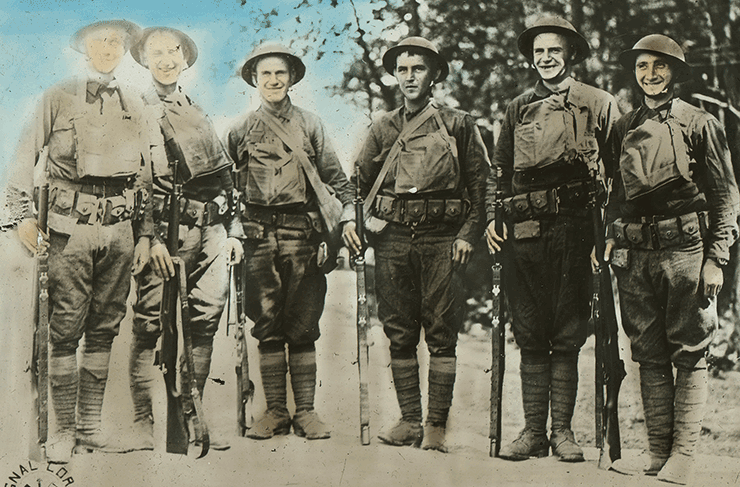 The Citizen-Soldiers: An Abbreviated History of the North Dakota National Guard